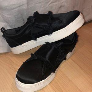 💖Sam Edelman size 10 (40) like new black slip on